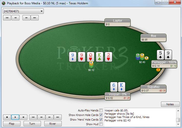 Replay PokerTracker 3