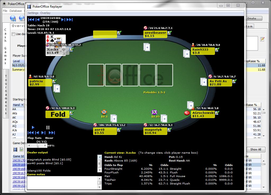 PokerOffice скачать